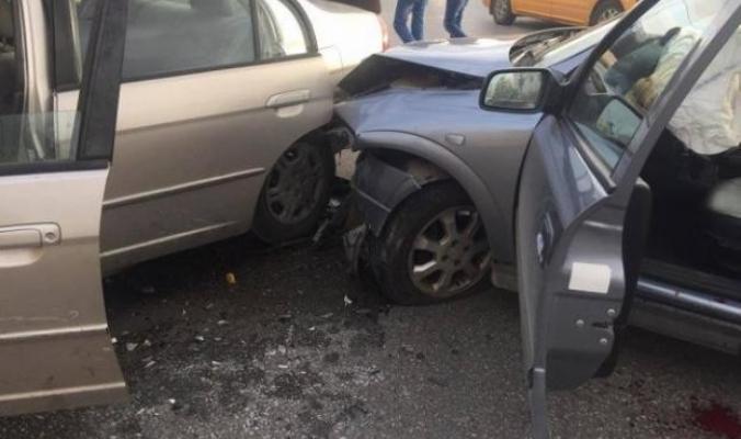 حادث سير مروع وكبير قرب البحر الميت