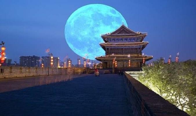 """الصين تعدّ """"قمرا"""" يضيء السماء في العام 2020"""