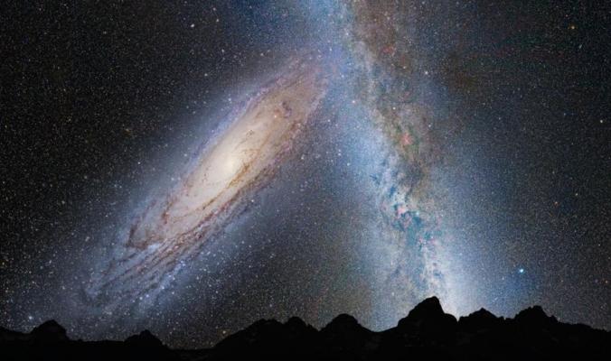 المجرة التي ستأكل مجرتنا في المستقبل.. أكلت اثنتين قبلها