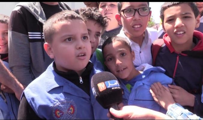 بالفيديو.. الجنّ تعزف النشيد الوطني لتلاميذ مدرسة في الجزائر