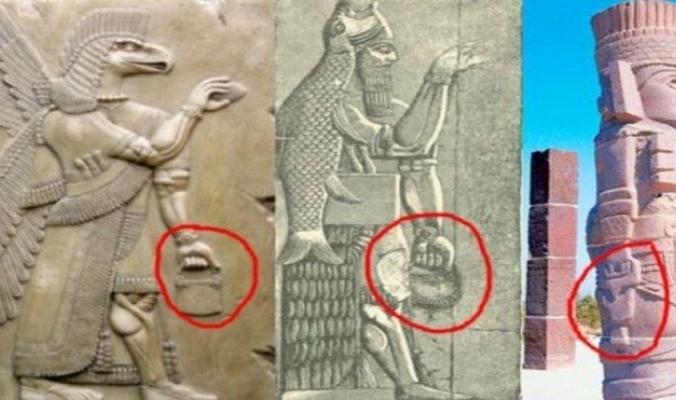 بالصور والفيديو.. ما سر حقيبة اليد العصرية في التماثيل القديمة؟