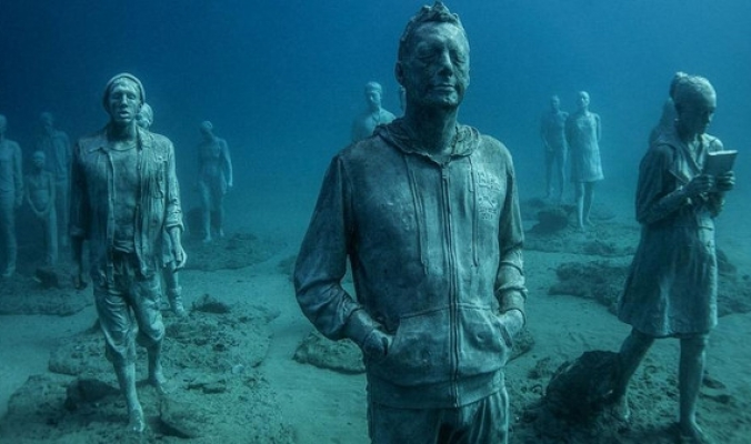 بالصور| ما هي قصة أول متحف تحت الماء؟