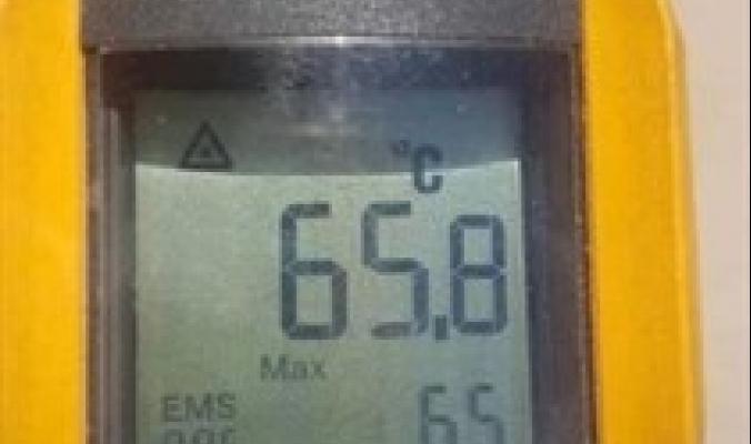 درجة الحرارة تلامس الـ65.8 درجة مئوية في الكويت