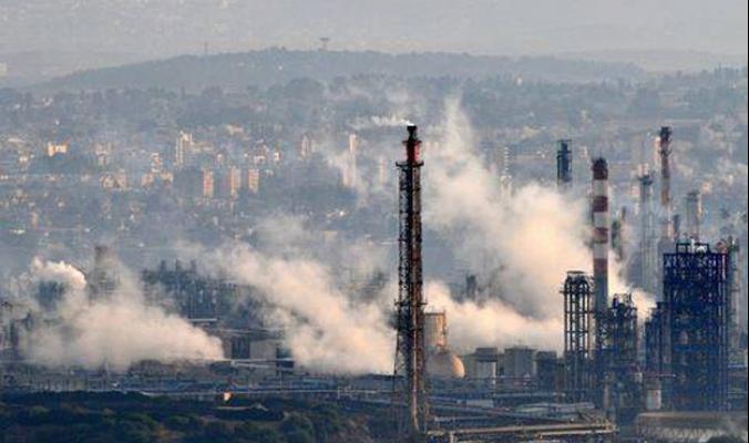 الرأسمال الكولونيالي الإسرائيلي يقتل الآلاف سنويا بسبب تلويثه للهواء الفلسطيني