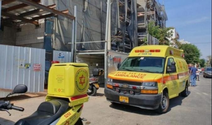 وفاة عامل فلسطيني في حادث عمل بالداخل