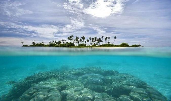 """كشف أسرار جزيرة غامضة ظهرت """"فجأة"""" في المحيط!"""