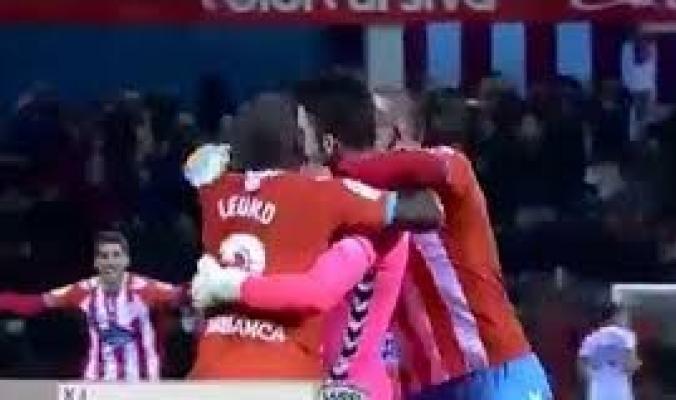 بالفيديو..حارس مرمى يسجل هدفا من مسافة 65 مترا في الدوري الاسباني