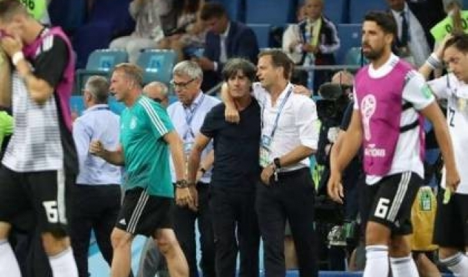 مدير منتخب ألمانيا يحمل أردوغان سبب خروج منتخبه من مونديال روسيا