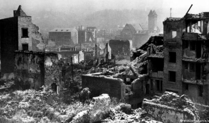 قصف جوي استمر 22 دقيقة محا مدينة ألمانية من الوجود