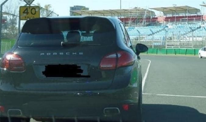 اشترى سيارة بورش.. فصادرتها الشرطة بعد 10 دقائق