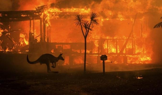 أستراليا تحترق ..وتوقعات بكسر درجات الحرارة حاجز الـ 50 درجة