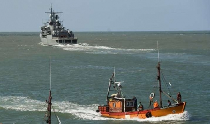 العثور على سفينة أثناء البحث عن الغواصة الأرجنتينية المفقودة