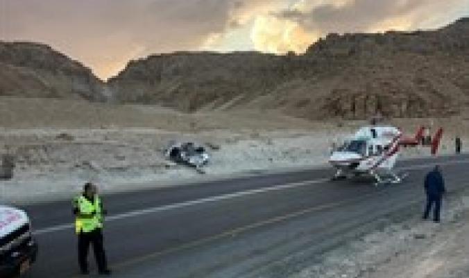 الثاني خلال اليوم... 4 اصابات بحادث سير على شارع 90