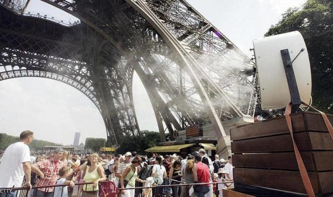 طقس خليجي في قلب أوروبا..موجة الحر في فرنسا قد تحطم أرقاماً تاريخية