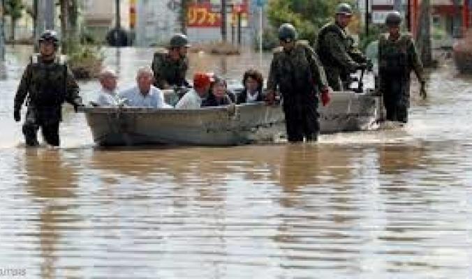 أكثر من 140 قتيلا حصيلة ضحايا أمطار اليابان الجديدة