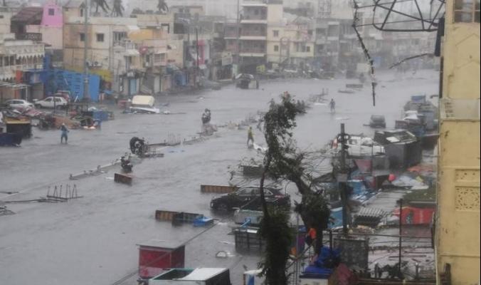 ارتفاع حصيلة ضحايا إعصار فاني في الهند إلى 64 قتيلا