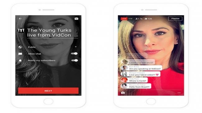 """""""يوتيوب"""" يسهل شروط استخدام ميزة البث المباشر"""