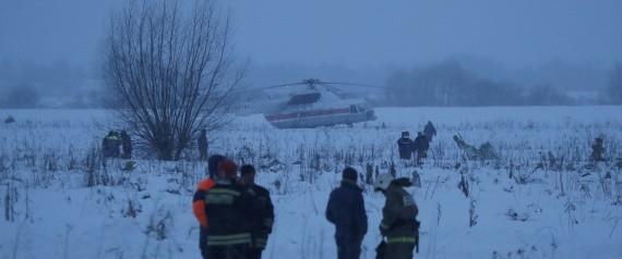 شاهد فيديو للحظة تحطم الطائرة الروسية المدنية قرب موسكو