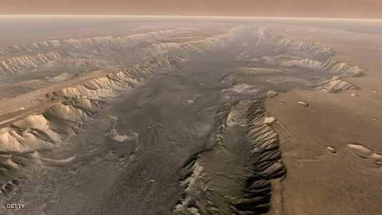 """""""محيطات المريخ"""".. فارق عمره 300 مليون سنة"""
