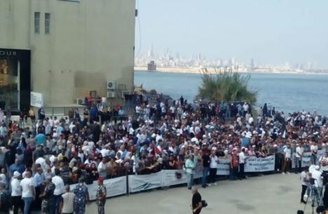 حشود فلسطينية أمام سفارة كندا طلبا للهجرة