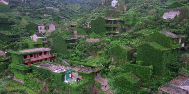 بالصور| كيف استولت الطبيعة على مدينة صينية مهجورة؟