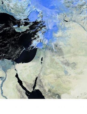 صور الأقمار الصناعيه اليوم من ارتفاع 762 كم عن سطح الارض