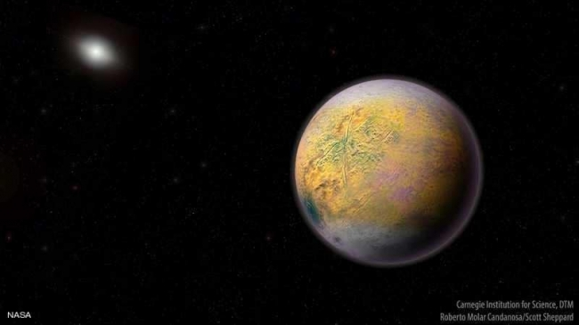 """رصد """"العفريت"""" خلف كوكب بلوتو"""