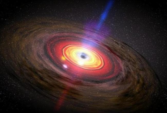 حجمه اكبر بعشرين مليار شمس ... أضخم ثقب أسود في الكون يلتهم «شمساً» كل يومين