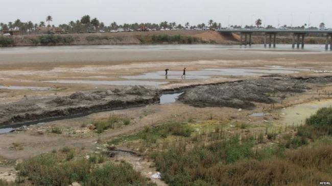 توقف نهر دجلة عن الجريان جنوبي العراق