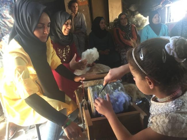 غاندي ومغزل الصوف ... فلسطين والزراعة البيئية