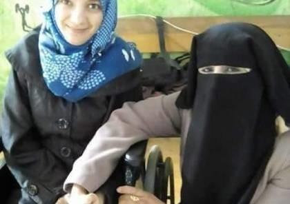 """""""ألاء مجدي""""..فتاة من غزة مصابة بشلل رباعي منذ 12 عاماً استيقظت فجراً وهي تمشي"""