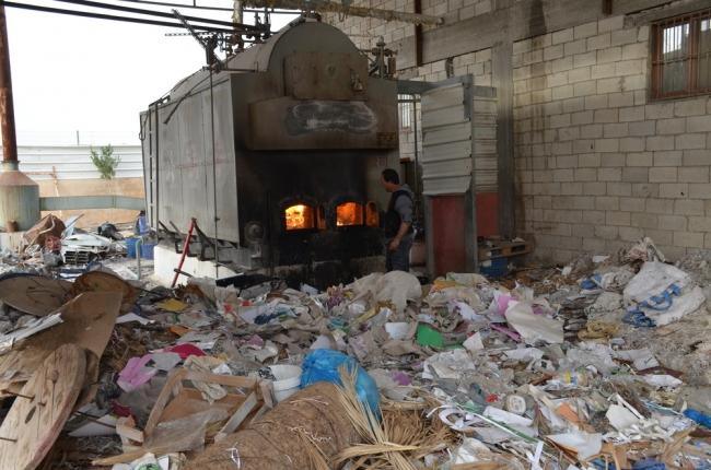 """""""بيبربال"""" أول مصنع فلسطيني ينتج الورق من سعف النخيل والمخلفات الورقية"""