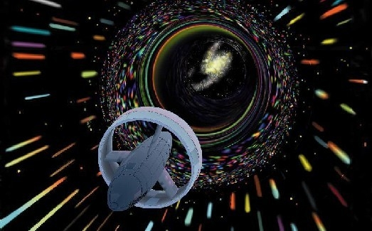 هل يمكن للبشر بناء ثقب دودي؟