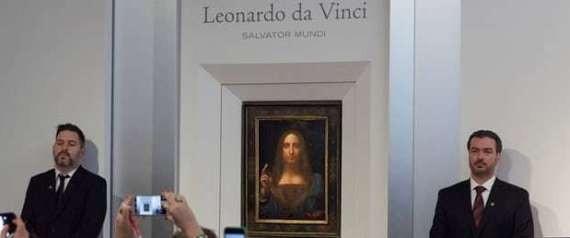 """100 مليون دولار تُسجَّل باسم دافنشي مجدداً بعد اكتشاف لوحة لـ""""المسيح"""" تنافس الموناليزا"""