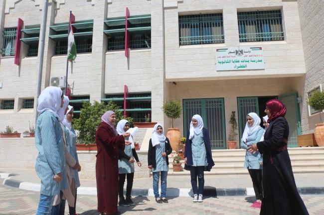 مدرسة عقابا الخضراء: مبادرات وفخر وبيئة