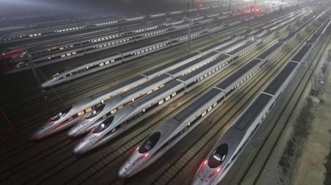 الصين تطلق أول قطار شحن مباشر إلى لندن!