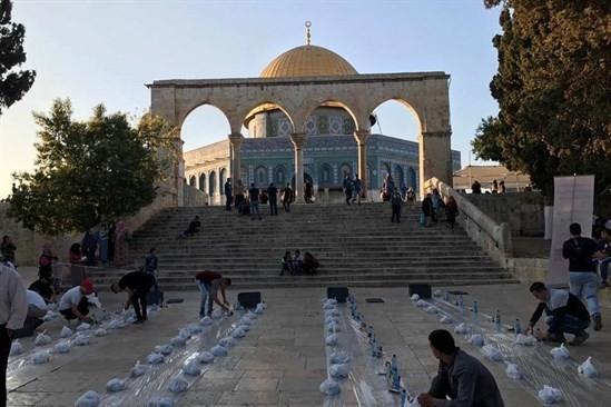 اجراءات جديدة داخل باحات الاقصى خلال رمضان
