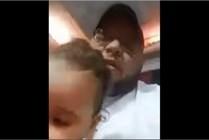 القاء القبض على رجل عذب طفلته