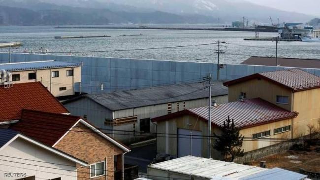 """بالصور.. اليابان تواجه رعب التسونامي بـ""""حيلة مبتكرة"""""""