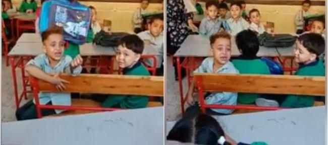 سخر الجميع من الطفل الباكي في المدرسة لـ«ينام ربع ساعة فقط».. لكن لم يعلموا ما مرّ به، حتى وزارة التعليم أخذت موقفاً حاسماً