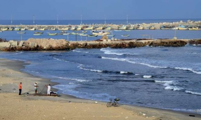 فلسطين تبحث عن الكنز قبالة شواطئ غزة
