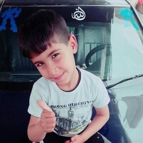 وفاة الطفل أدهم أبو الحصين بحادث سير