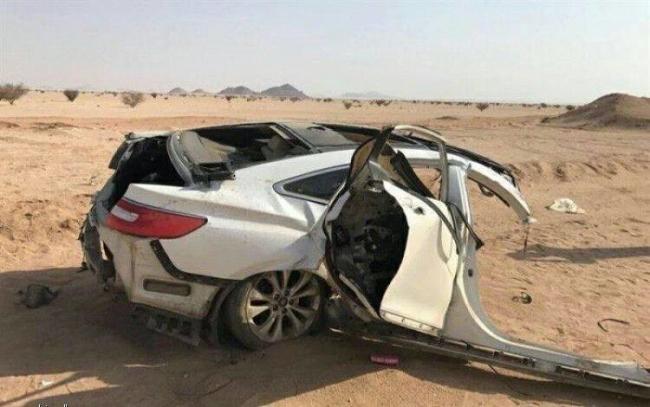 مصرع عائلة فلسطينية مكونة من 10 أفراد في حادث سير مميت في السعودية