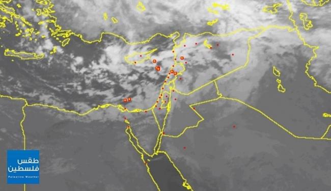 سحب رعدية قوية....تطورات الأحوال الجوية في الساعات القادمة