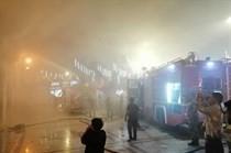 حريق يلتهم المسجد الحسيني التاريخي وسط عمان