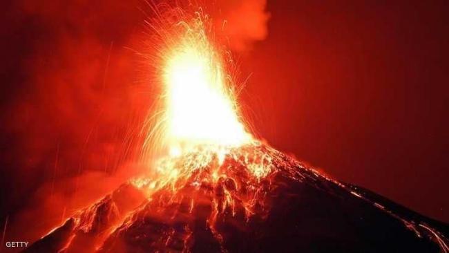 """""""بركان النار"""" في غواتيمالا يحصد المزيد من الأرواح"""