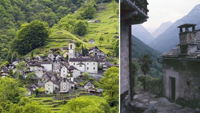 """تَعرف (كوريبو)، القرية السويسرية التي تريد أن تصبح """"فندقا مبعثرا""""!"""