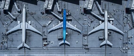 أسباب اقتصادية بحتة وراء هذا السر.. لماذا يتم طلاء الطائرات باللون الأبيض؟