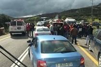 حادث سير قرب نابلس.. وعدد كبير من الإصابات