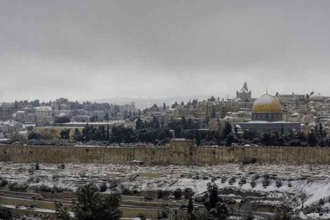 منخفض قطبي عميق قادم الى فلسطين وبلاد الشام بمشيئة الله تعالى.. آخر المعطيات